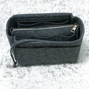 Handbags - Felt Two-Piece Bag Organizer Fits Many Bags